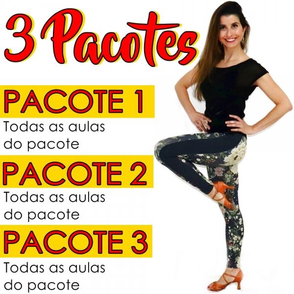 Ladies Style - Gafieira - AVANÇADO - Pacote 1, 2 e 3 / Contém 9 Aulas
