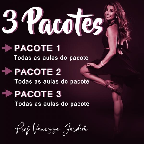 Ladies Style - Gafieira - INTERMEDIÁRIO - Pacote 1, 2 e 3 / Contém 9 Aulas