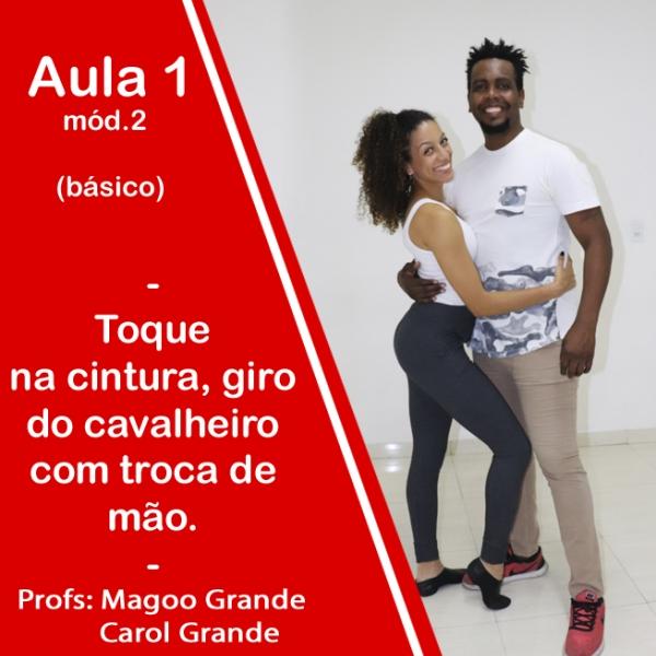 Samba Rock - BÁSICO - Pacote 2 / Aula 1