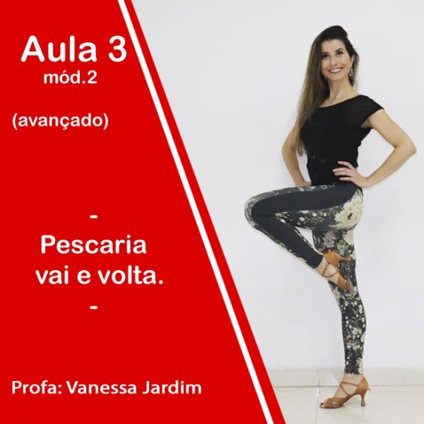 Ladies Style - Gafieira - AVANÇADO - Pacote 2 / Aula 3