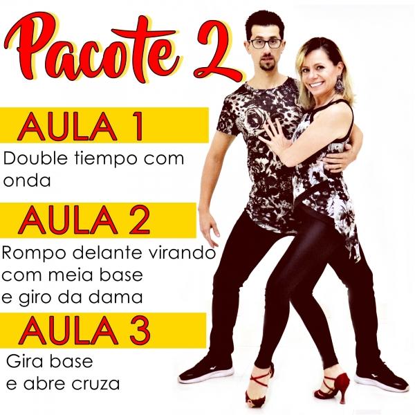 Bachata - INTERMEDIÁRIO - Pacote 2 / Contém 3 Aulas
