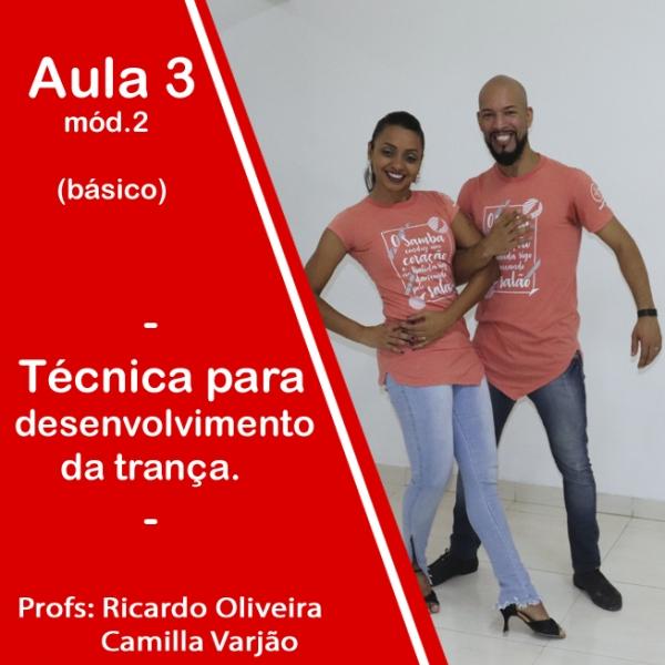 Samba de Gafieira - BÁSICO - Pacote 2 / Aula 3