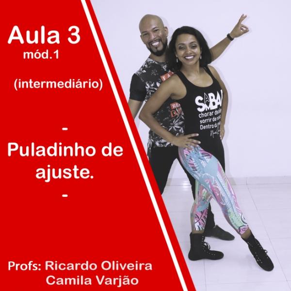 Samba de Gafieira - INTERMEDIÁRIO - Modulo 1 / Aula 3