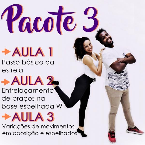 Samba Rock - BÁSICO - Pacote 3 / Contém 3 Aulas