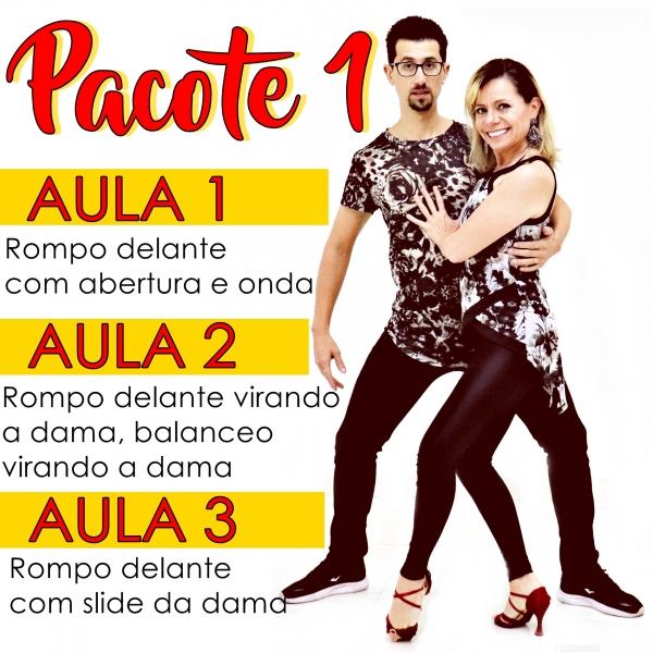 Bachata - INTERMEDIÁRIO - Pacote 1 / Contém 3 Aulas