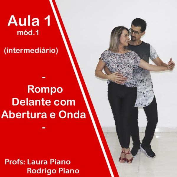 Bachata - INTERMEDIÁRIO - Modulo 1 / Aula 1