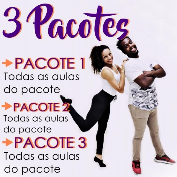 Samba Rock - BÁSICO - Pacote 1, 2 e 3 / Contém 9 Aulas