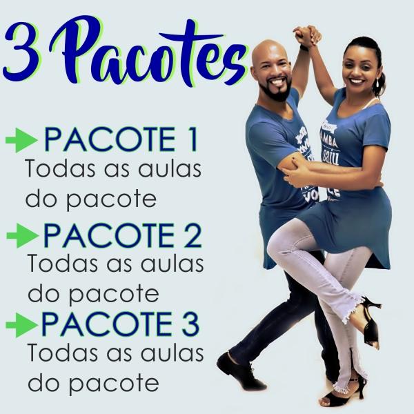 Samba de Gafieira - BÁSICO - Pacote 1, 2 e 3 / Contém 9 Aulas