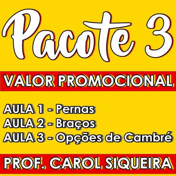 Ladies Style - INTERMEDIÁRIO - Pacote 3 / Contém 3 aulas