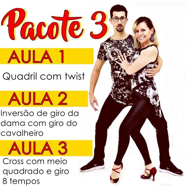Bachata - INTERMEDIÁRIO - Pacote 3 / Contém 3 Aulas