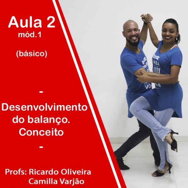 Samba de Gafieira - BÁSICO - Pacote 1 / Aula 2