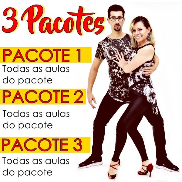 Bachata - INTERMEDIÁRIO - Pacote 1, 2 e 3 / Contém 9 Aulas