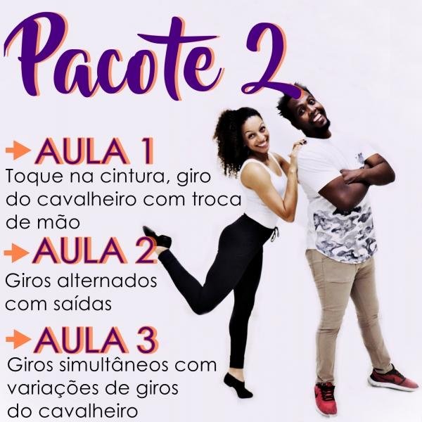 Samba Rock - BÁSICO - Pacote 2 / Contém 3 Aulas