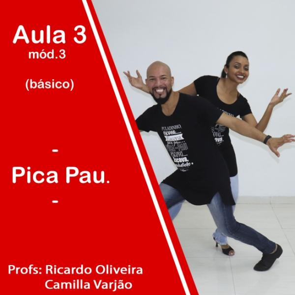 Samba de Gafieira - BÁSICO - Pacote 3 / Aula 3
