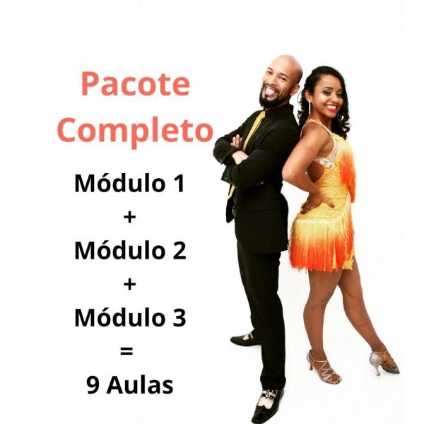 Samba de Gafieira - INTERMEDIÁRIO - Modulo 1, 2 e 3 / Contem 9 aulas