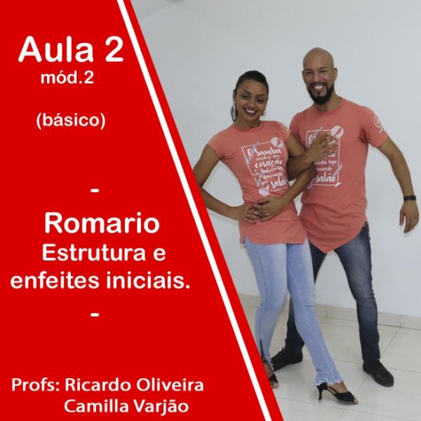 Samba de Gafieira - BÁSICO - Pacote 2 / Aula 2