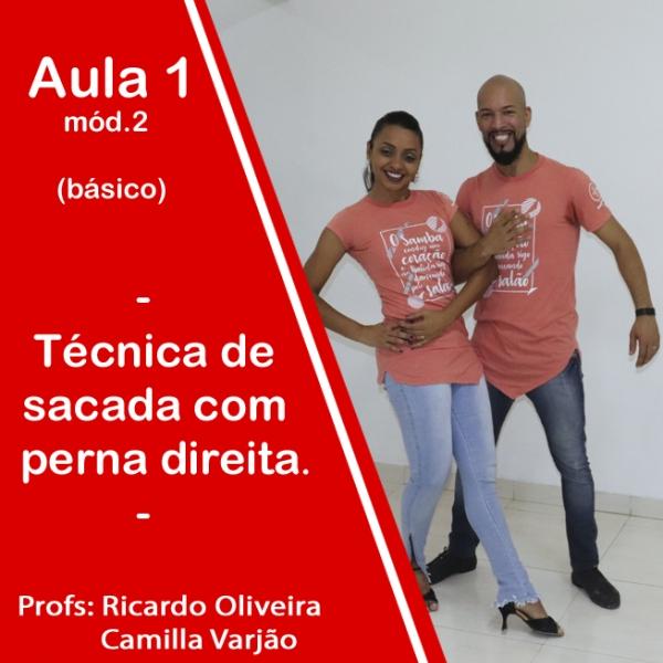 Samba de Gafieira - BÁSICO - Pacote 2 / Aula 1