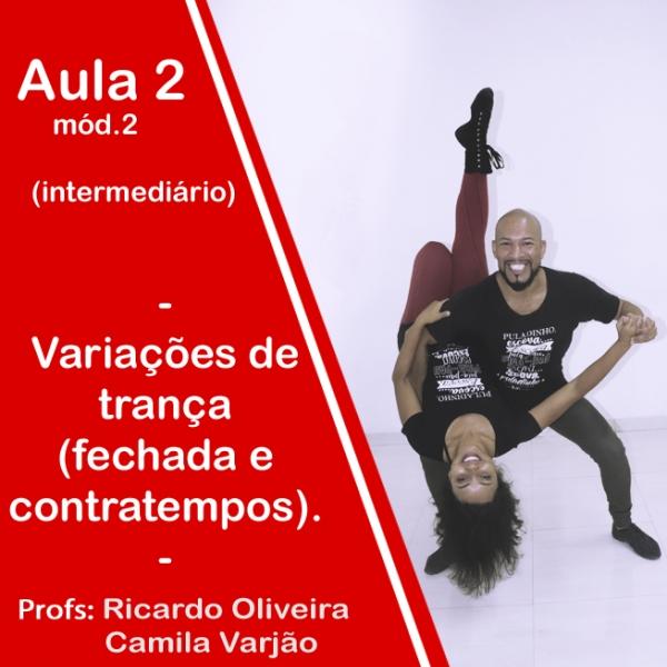 Samba de Gafieira - INTERMEDIÁRIO - Modulo 2 / Aula 2
