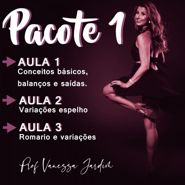 Ladies Style - Gafieira - INTERMEDIÁRIO - Pacote 1 / Contém 3 Aulas