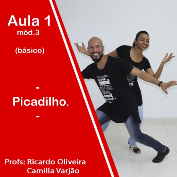 Samba de Gafieira - BÁSICO - Pacote 3 / Aula 1