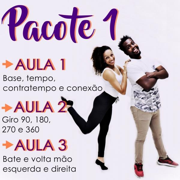 Samba Rock - BÁSICO - Pacote 1 / Contém 3 Aulas
