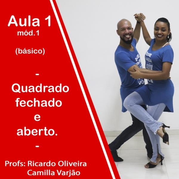 Samba de Gafieira - BÁSICO - Pacote 1 / Aula 1