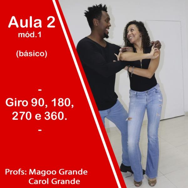 Samba Rock - BÁSICO - Pacote 1 / Aula 2