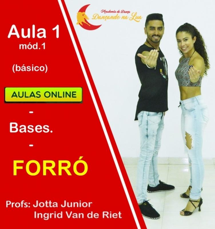 Aula de Dança Forró Online Moema - Dança Kizomba Online