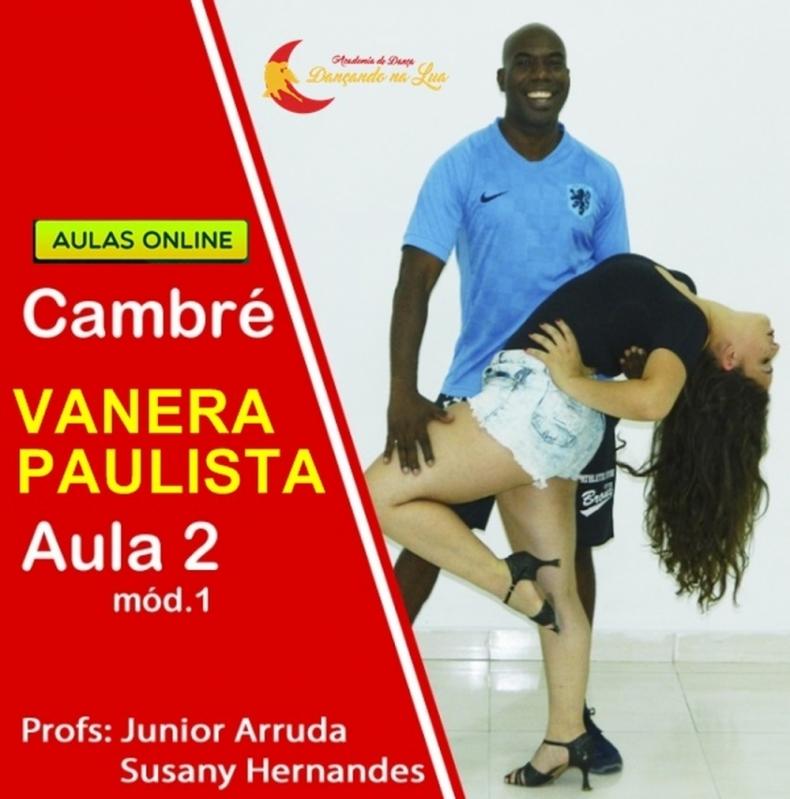 Aula de Dança Vanerão Online Tocantins - Dança Bachata Online