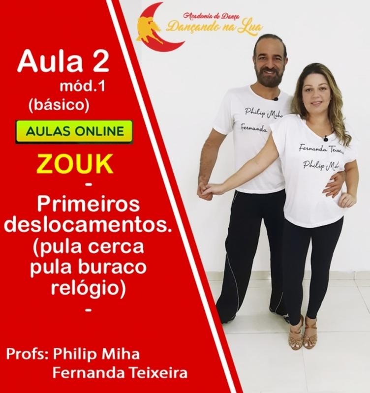 Aula Zouk Piauí - Zouk Aula de Dança