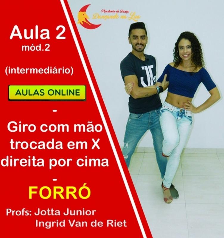 Aulas de Forró Samba Online Maranhão - Aula de Forró Pé de Serra Iniciante