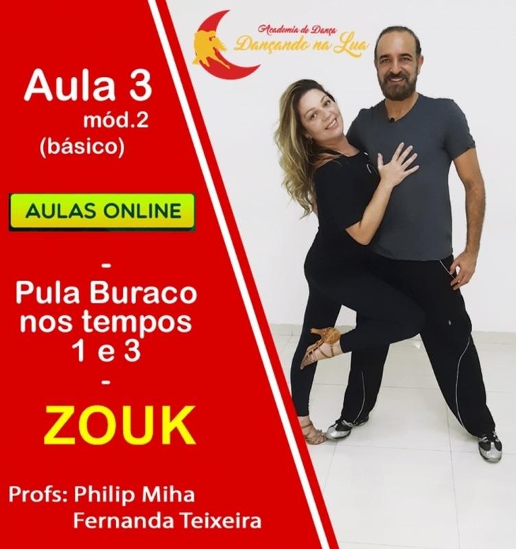 Aulas Zouk Iniciante Vila Brasilina - Aula Zouk