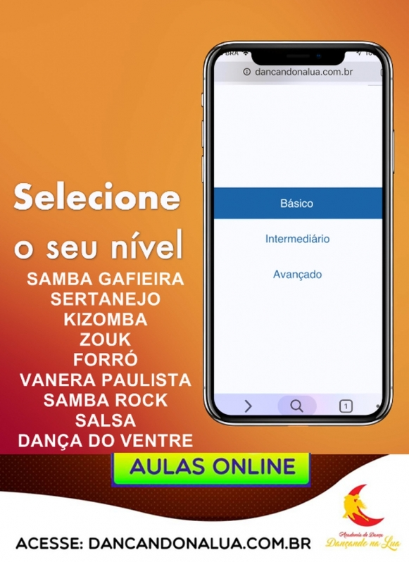 Dança Kizomba Online Orçamento Parque Imperial - Dança Samba Rock Online