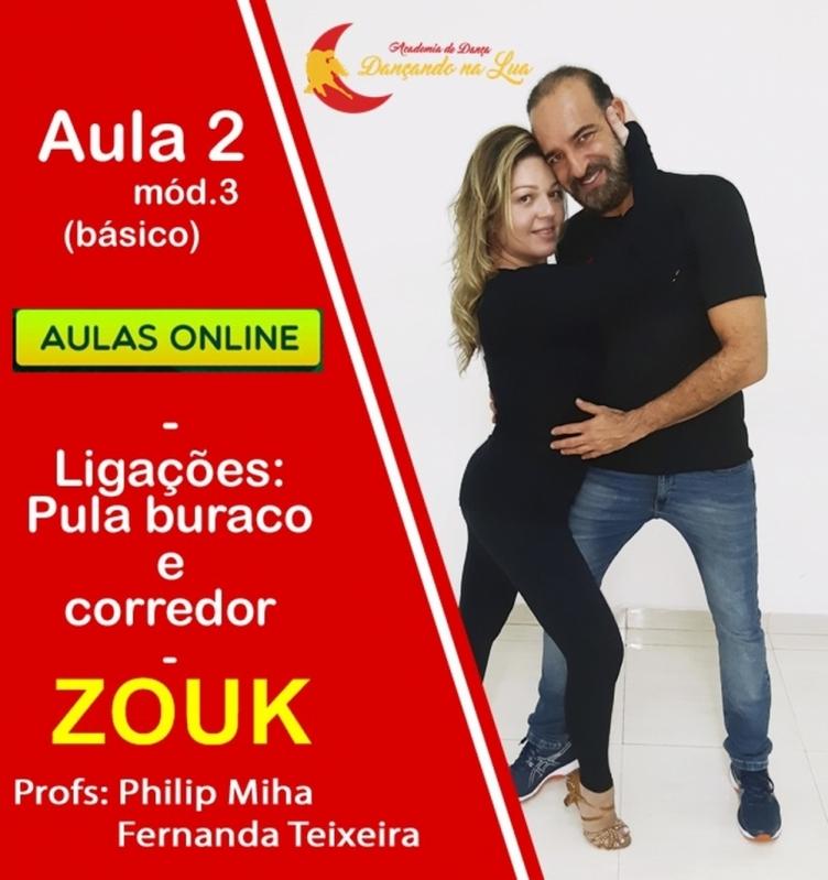 Onde Tem Dança Zouk Online Zona Sul - Dança Kizomba Online