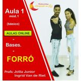aula de dança forró online São Paulo