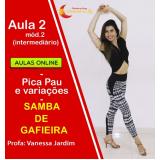 aula samba iniciante online Jardim América