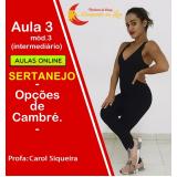 aulas de dança sertaneja online preço Maranhão