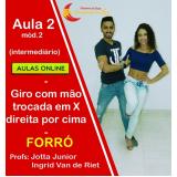 aulas de forró samba online São Judas