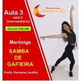 aulas samba iniciante Rio de Janeiro