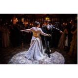 coreografia de valsa para casamento preço Vila Moinho Velho