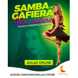 dança online samba valores Jardim Paulista