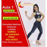 dança samba de gafieira online Goiás