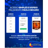 dança samba no pé online valores Rio Grande do Norte