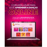 fazer aula dança samba no pé online Vila Vera