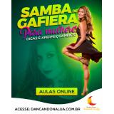 onde encontro aula de dança samba no pé online Piauí